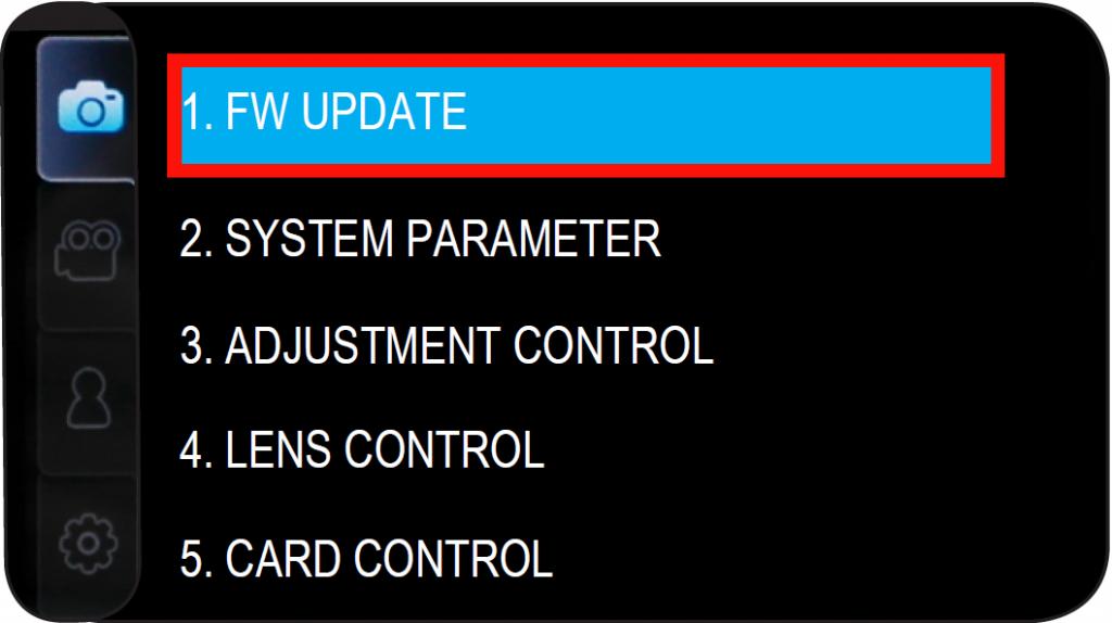 Ukryte menu w Samsungu NX300