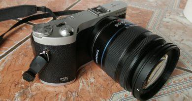aparat fotograficzny bezlusterkowiec samsung nx300